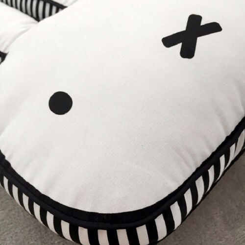 Kids Miffy Rabbit Cushion Plush Toys Soft Pillow Cute Bunny Baby Bedroom Decor