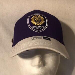 new concept 85756 6515e Image is loading MLS-Orlando-City-Soccer-Futbol-Hat-Cap-adidas-