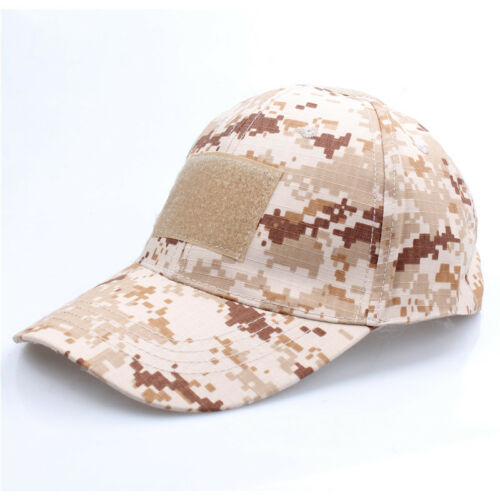 Tactical Operator Camo Baseball Hat Military Army Special Forces Airsoft Cap