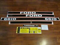 Ford Tractor Decal Set 6610 With Caution And Shifter Stickers 1115-1560