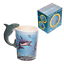 thumbnail 22 - Animal Shaped Handle Ceramic Mug Tea Coffee Cup Novelty Gift Jungle Tropical