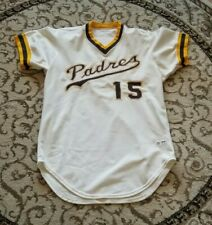 1977 San Diego Padres Home Game Used Jersey - Mike Ivie