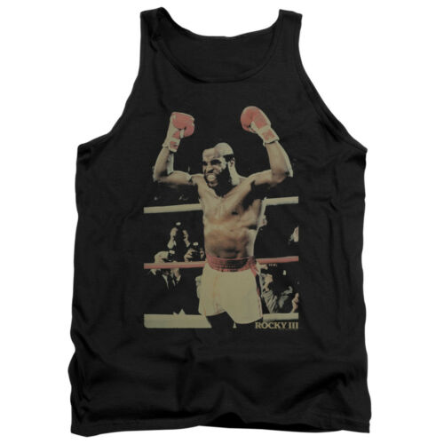Rocky III CLUBBER LANG in Ring Photo Adult Tank Top All Sizes