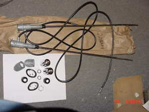 1960-DeSoto-Chrysler-NOS-MoPar-40IN-DUAL-REAR-ANTENNA-Kit-Adventurer-New-Yorker