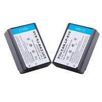 2X LP-E10 LPE10 Battery for Canon EOS 1100D Rebel T3 Kiss X50 Digital SLR Camera