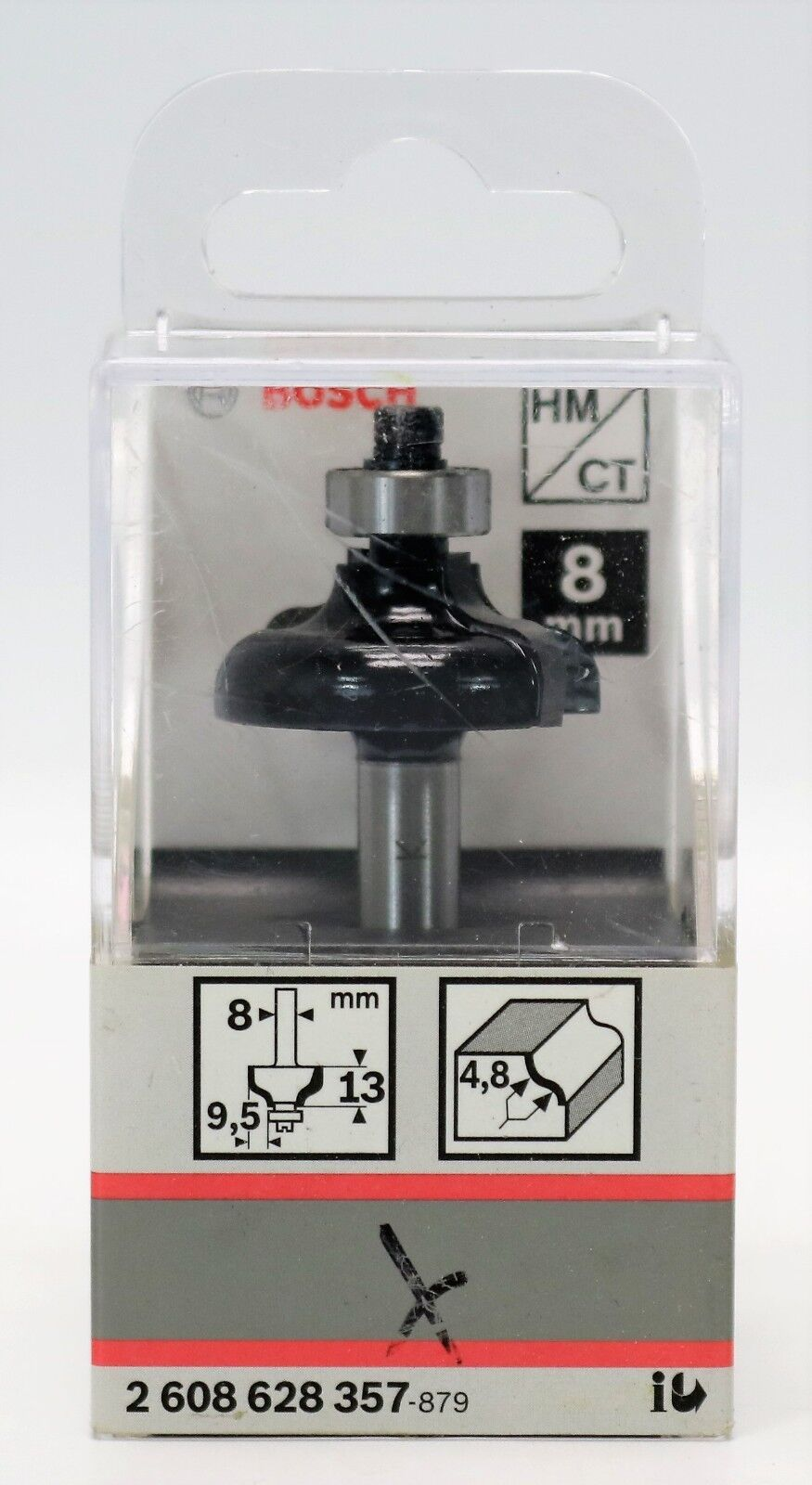 Bosch Profi HM//CT Profilfräser 8mm Schaft mit Anlaufkugellager Fräser Fräsen