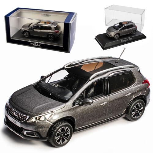Peugeot 2008 SUV Platine Gris à Partir De 2013 1//43 Norev modèle voiture avec ou sans TRANS