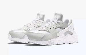 00f6fe2c8b33f Nike Air Huarache Women s Running Training Shoes Triple White 634835 ...