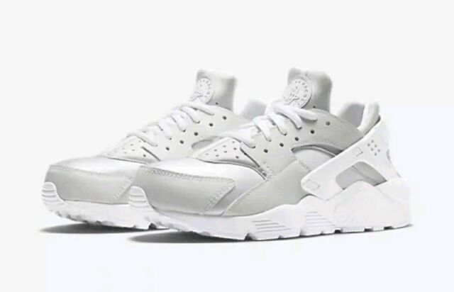 32a72e049fca4 Nike Air Huarache Women s Running Training Shoes Triple White 634835 108