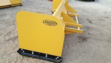 Snow Pusher Box Blade Plow Backhoe Loader 12 Ft Best Value Guaranteed