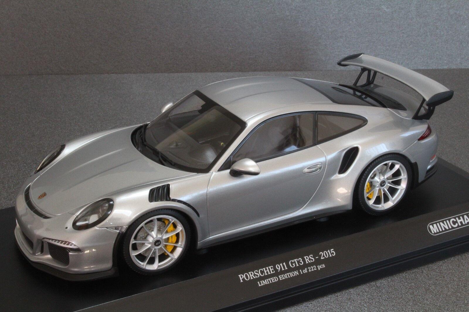 MINICHAMPS 1:18 PORSCHE 911 GT3 RS 2015  Ref: 192