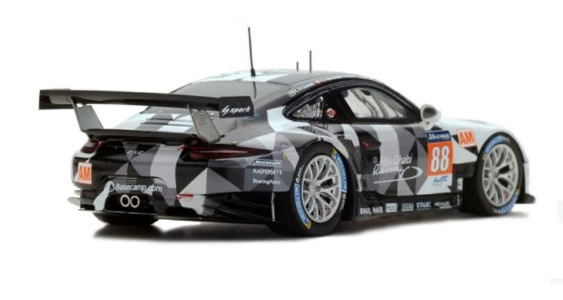 Spark S5142 Porsche 911 911 911 RSR Abu Dhabi-Predon' Le Mans 2016 - 1 43 Scale 272a25
