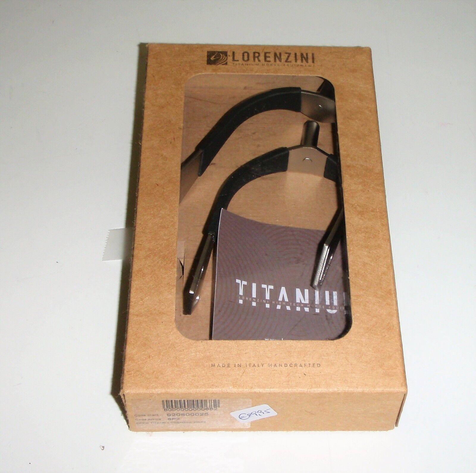Lorenzini TITANIUM Sporen SP2  25mm Neuware
