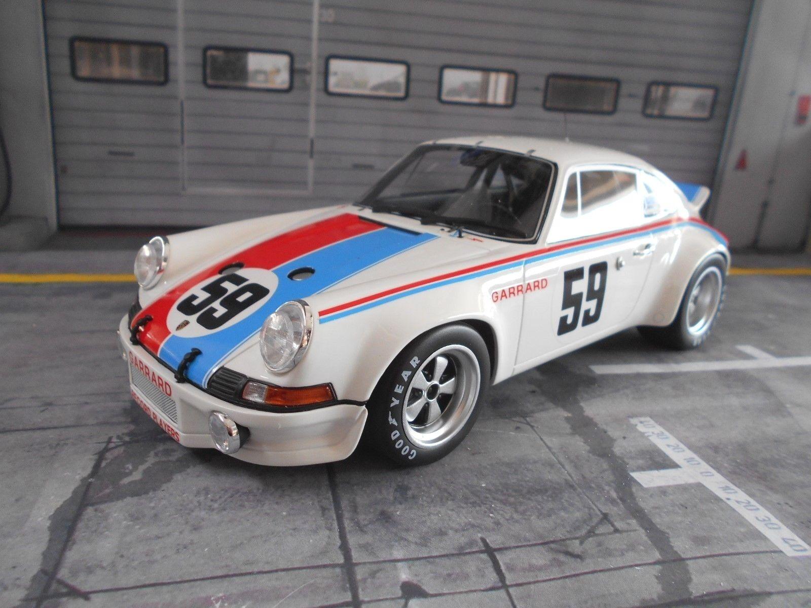 Porsche 911 RS racing Brumos Daytona winner gregg haywoo GT Spirit 1 18