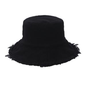 Japanese Korean Yohji Yamamoto style streetwear distressed bucket hat (P117)