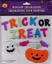 Halloween Gel Window Stickers Clings trick or treat free uk p/&p