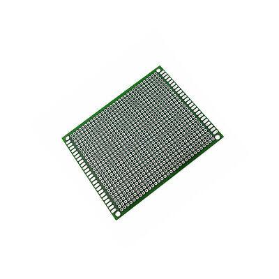 2PCS Double side Protoboard Circuit Universal DIY Prototype PCB Board 7cmx9cm