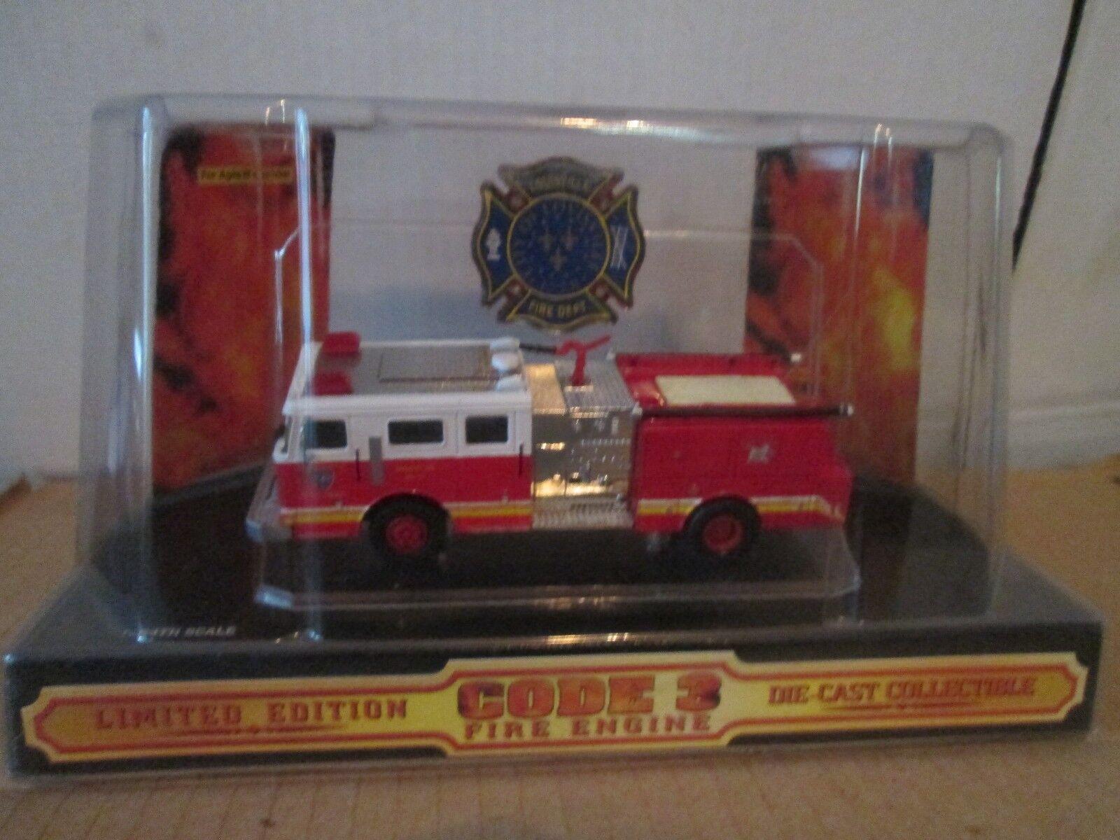 City Of Louisville Code 3 Seagrave Pumper 1/64 Fire Dept Unité 15 #02455 | Livraison Immédiate  | Outlet Shop En Ligne  | être Dans L'utilisation  | Expédition Rapide