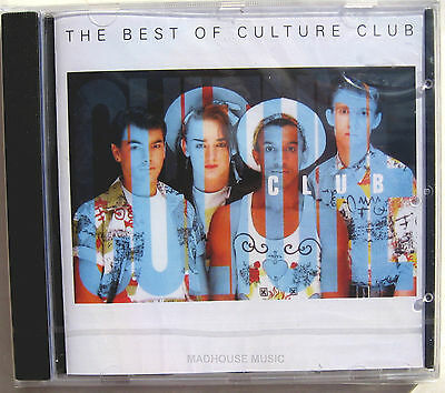 CULTURE CLUB CD The Best Of Culture Club 16 Track 1989 Dutch Album SEALED