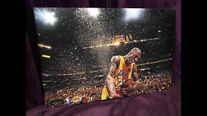RARE ORIGINAL PANINI AUTHENTIC NBA KOBE BRYANT SIGNED!!!