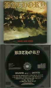 BATHORY-Swe-BLOOD-FIRE-DEATH-CD-BLACK-MARK-PRODUCTIONS-2003-ORG-PRESS
