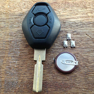 how to change bmw key fob battery e60
