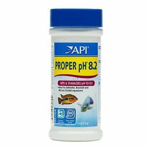 API PROPER pH 8.2 POWDER AQUATIC SETS & STABILIZES TO FOR SW BRACKISH CICHLID