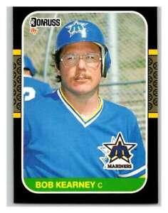 1987-Donruss-445-Bob-Kearney-Mariners-NM-MT