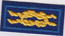 "Den Leader Knot Award Knot official ""BSA "" Backing, Mint Rare Scout"