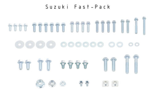 SUZUKI Factory Match FAST-PACK Bolt kit for RMZ450 /& RMZ250