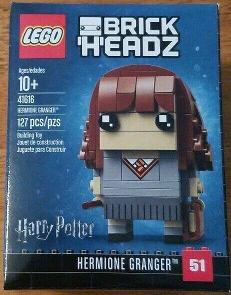 New 41615 41616 41621 Harry Potter Hermione Dumbledore NIB LEGO Brickheadz Lot