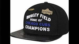 2e40db7d4fb Image is loading Chicago-Cubs-Champions-Pro-Standard-Brand-Strapback -Adjustable-