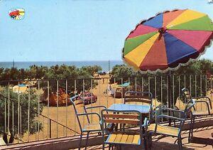 Alte-Postkarte-Camping-Playa-Montroig