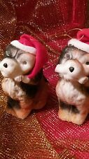 Puppy Dog Christmas Ornaments Plastics