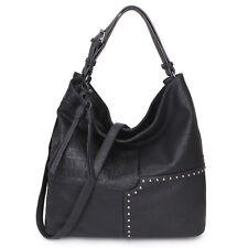906507c48a Dasein Womens Handbags Soft Faux Leather Hobo Shoulder Crossbody Bag Day  Purses