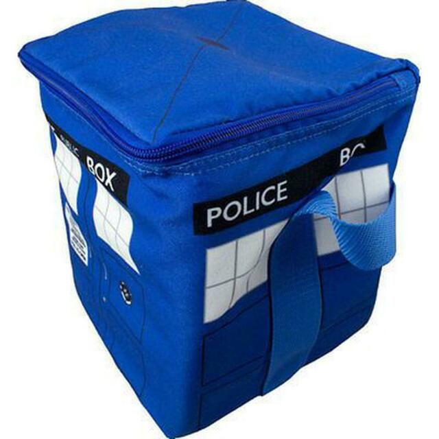 Ikon Collectables Doctor Who - Tardis Cooler Bag Blue Free Shipping!