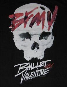 Bfmv Bullet For My Valentine Skull Tee T Shirt Licensed Bravado