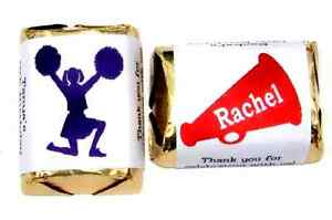 60-PERSONALIZED-CHEERLEADER-CANDY-WRAPPERS-ANY-COLOR