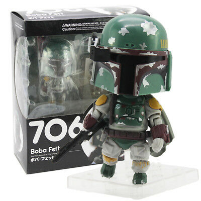Nendoroid Star Wars Toy Boba Fett Action Figure Collectible