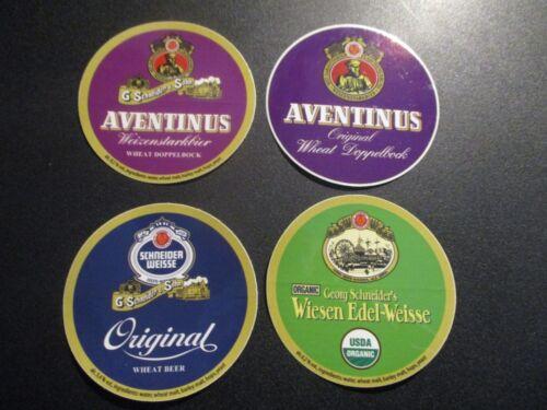 Schneider Weisse 4 Pack Lot STICKER decal craft beer brewing brewery