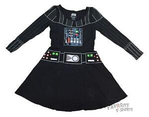 Star-Wars-Movie-Darth-Vader-I-Am-Costume-Black-Skater-Dress