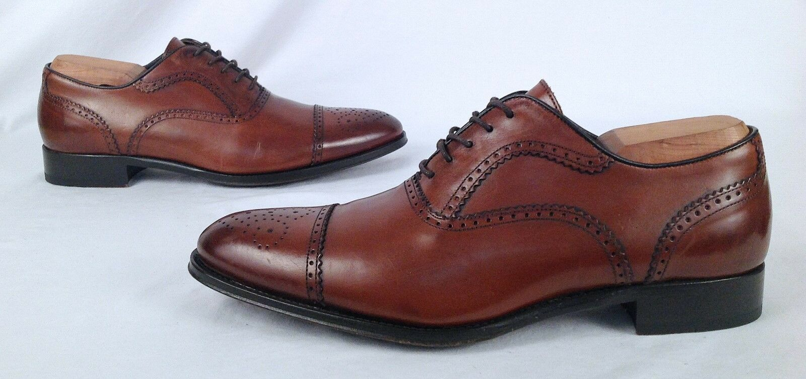 NEW   To Boot New York 'Capote'  Perforat Oxford- Brown- Size 9.5 M-  398