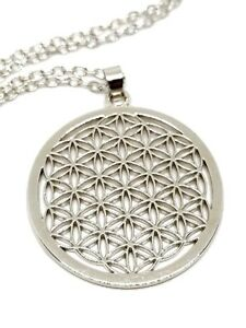 Details about Flower of Life Pendant Sacred Geometry Reiki Yoga Peace 18