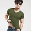 Fashion-Men-Casual-Tops-T-Shirt-Short-Sleeve-V-Neck-Slim-Fit-Muscle-Shirts-Tee