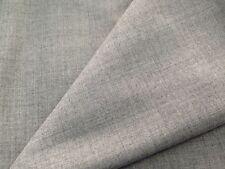 coupon de tissu pure laine peigné gris chiné  maison H B :3 m ref  MAG 1