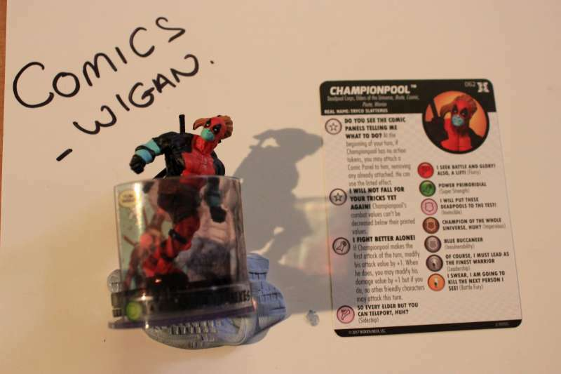 Marvel Heroclix Deadpool and X-ForceChase CHAMPION