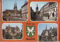 Alte Postkarte - Gruß aus Saalfeld