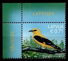Vögel. Pirol. 1W. Eckrand (4). Lettland 2015