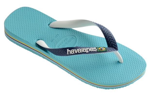 f2a82c28c7684 Havaianas Brasil Mix Men s Flip Flops Colour Sky Blue white 5 Baby ...