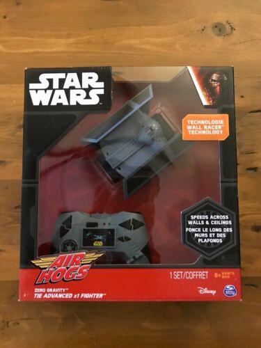 Air Hogs Star Wars Zero Gravity Tie Advanced X1 Fighter New